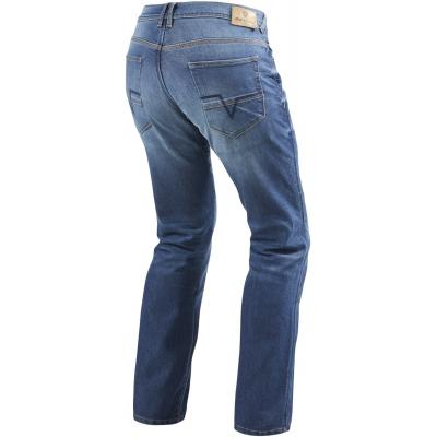 REVIT kalhoty jeans PHILLY 2 LF Long medium blue