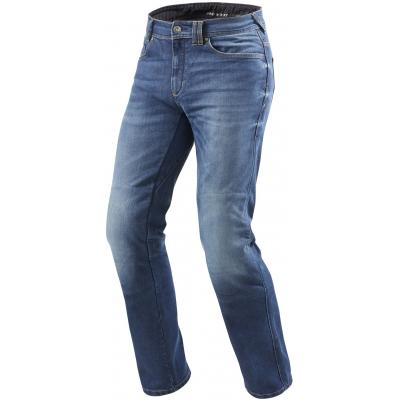 REVIT kalhoty jeans PHILLY 2 LF Short medium blue