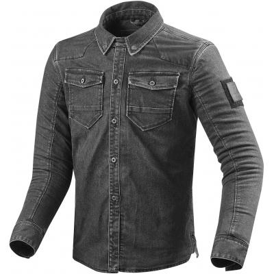 REVIT košile HUDSON dark grey used