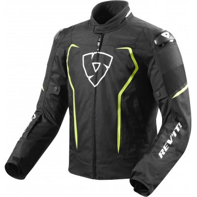REVIT bunda VERTEX H2O black/neon yellow