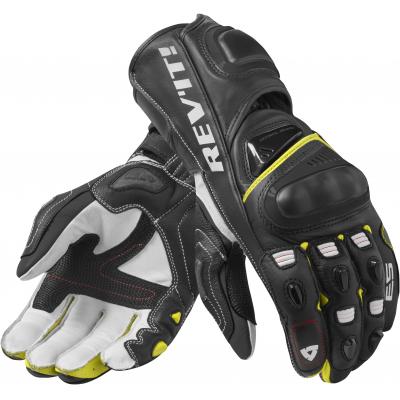REVIT rukavice JEREZ 3 black/neon yellow