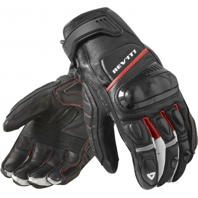 REVIT rukavice CHICANE black/red