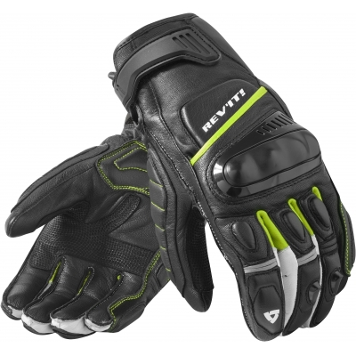 REVIT rukavice CHICANE black/neon yellow