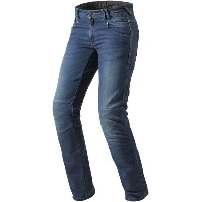 REVIT kalhoty CORONA TF Long jeans blue