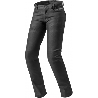 REVIT kalhoty jeans ORLANDO H2O RF Long dámské black