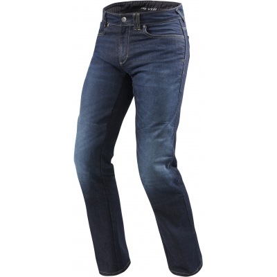 REVIT kalhoty jeans PHILLY 2 LF Short dark blue