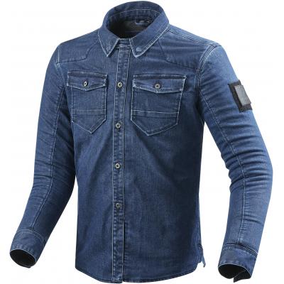 REVIT košile HUDSON light blue used