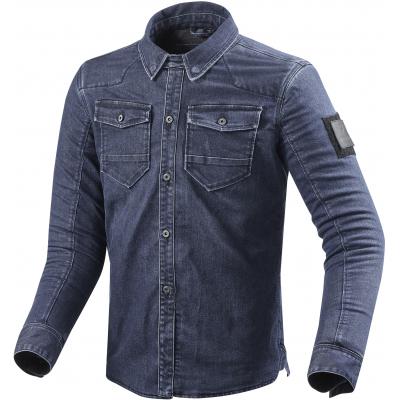 REVIT košeľa HUDSON ST medium blue used
