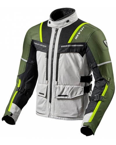 REVIT bunda OFFTRACK silver/green