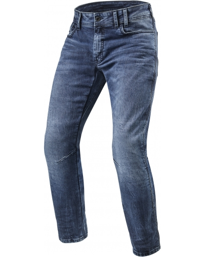 REVIT nohavice jeans DETROIT TF medium blue