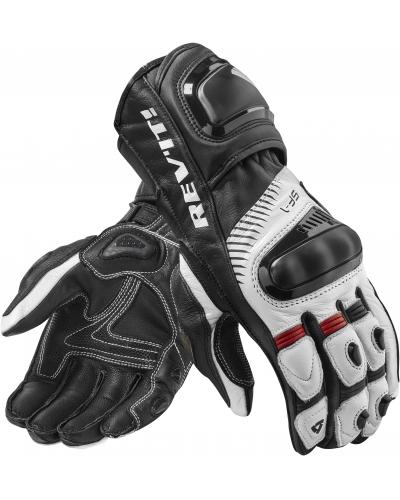 REVIT rukavice SPITFIRE white/black