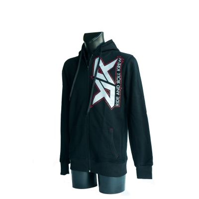 RIDE AND ROLL KREW mikina RR LOGO black