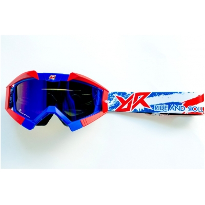 RIDE AND ROLL KREW brýle PATRIOT white/red/blue