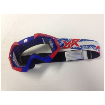 RIDE AND ROLL KREW okuliare PATRIOT white / red / blue