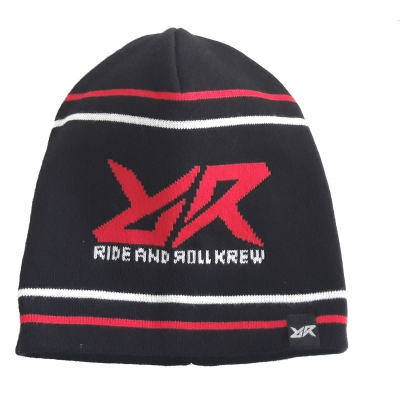 RIDE AND ROLL KREW čepice RR LOGO black