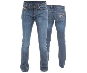 RST kalhoty jeans ARAMID STRAIGHT 2221 Short dámské blue