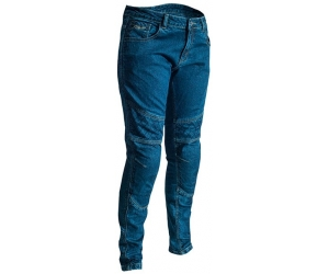 RST kalhoty jeans ARAMID STRAIGHT LEG CE 2089 dámské blue