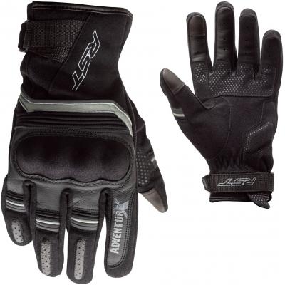 RST rukavice ADVENTURE-X CE 2392 Black / Black