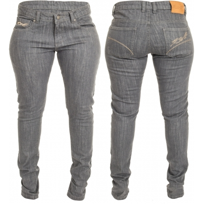 RST kalhoty jean ARAMID SKINNY FIT 2225 dámské grey