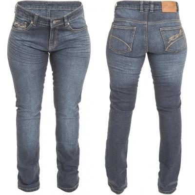 RST kalhoty jean STRAIGHT LEG 0135 dámské blue