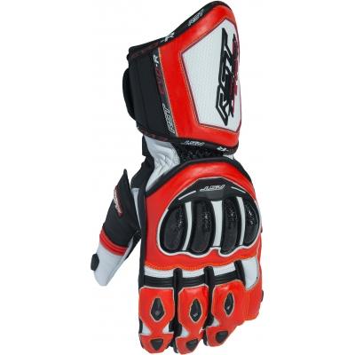 RST rukavice TRACTECH EVO R III CE 2092 white/black/fluo red