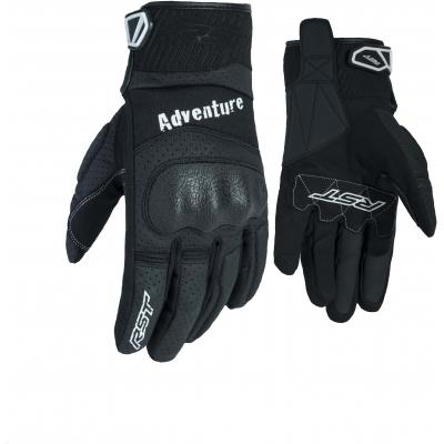 RST rukavice ADVENTURE CE 2109 black/black