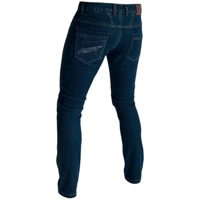 RST kalhoty jean ARAMID STRAIGHT LEG CE 2004 dark wash blue