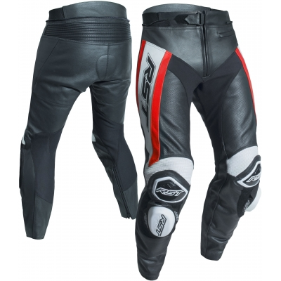 RST nohavice TRACTECH EVO R CE 2053 black / fluo red