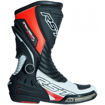RST boty TRACTECH EVO III SPORT CE 2101 white/fluo red