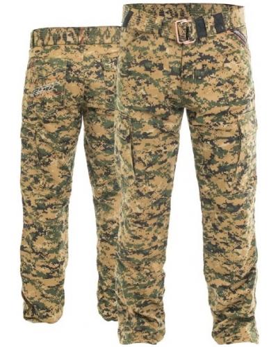 RST kalhoty jean ARAMID UNTILITY CARGO 2215 digital camo