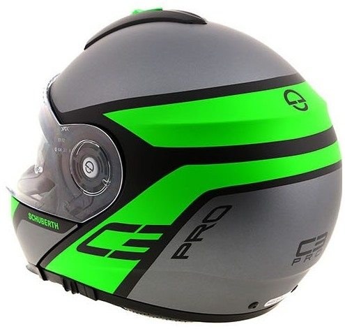 schuberth prilba c3 pro echo green bonmoto. Black Bedroom Furniture Sets. Home Design Ideas