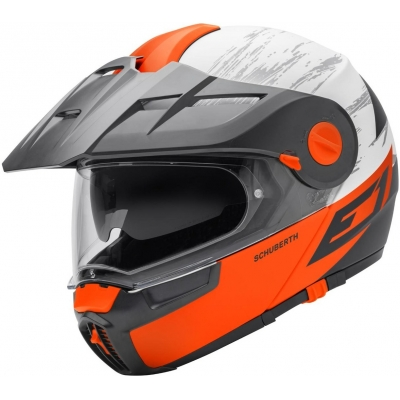 SCHUBERTH přilba E1 crossfire orange