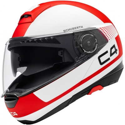 SCHUBERTH prilba C4 Legacy red