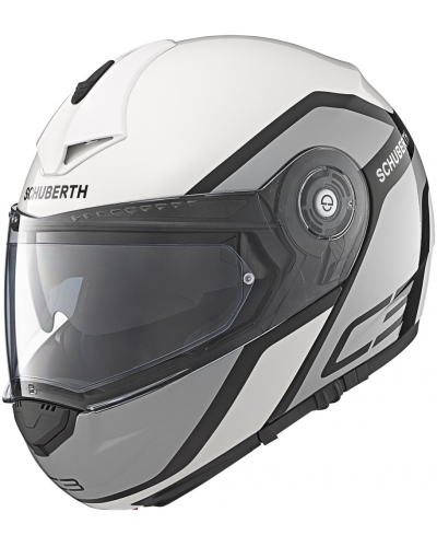 schuberth prilba c3 pro observer white bonmoto. Black Bedroom Furniture Sets. Home Design Ideas