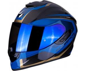 SCORPION přilba EXO-1400 AIR Carbon Esprit black/blue