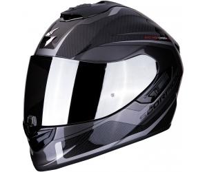 SCORPION přilba EXO-1400 AIR Carbon Esprit black/silver