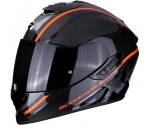 SCORPION přilba EXO-1400 AIR Carbon Grand orange