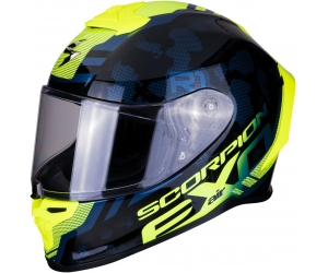 SCORPION přilba EXO-R1 AIR Ogi black/neon yellow