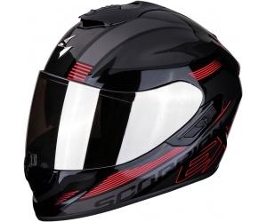 SCORPION přilba EXO-1400 AIR Free metal black/red