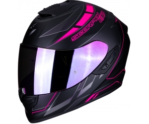 SCORPION přilba EXO-1400 AIR Cup matt black/chameleon pink