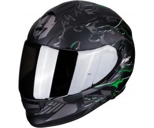 SCORPION prilba EXO-510 AIR Likid matt black/green