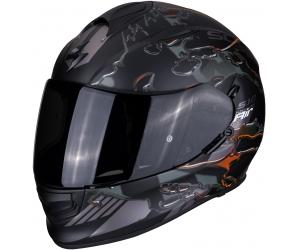 SCORPION prilba EXO-510 AIR Likid matt black/orange