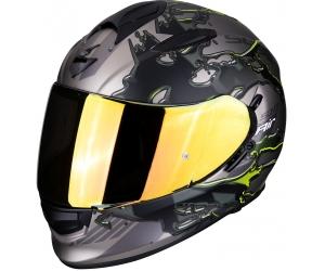 SCORPION prilba EXO-510 AIR Likid titanium/neon yellow