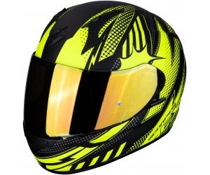 SCORPION přilba EXO-390 Pop matt black/neon yellow