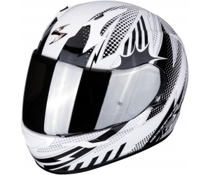 SCORPION přilba EXO-390 Pop white/black