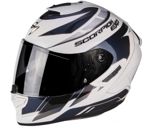 SCORPION přilba EXO-1400 AIR Cup pearl white/chameleon blue