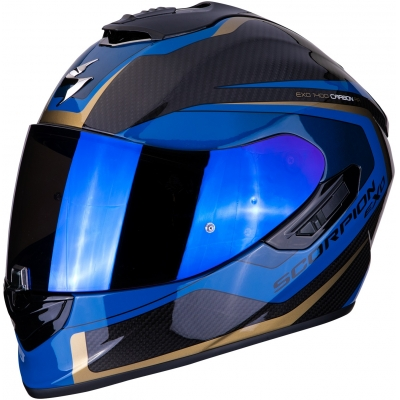 SCORPION prilba EXO-1400 AIR Carbon Esprit black/blue