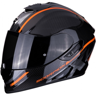 SCORPION prilba EXO-1400 AIR Carbon Grand orange