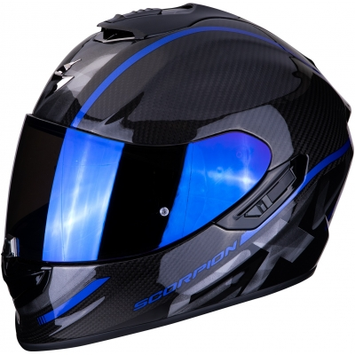 SCORPION prilba EXO-1400 AIR Carbon Grand blue