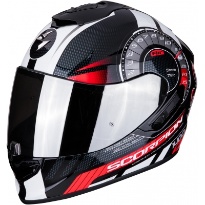 SCORPION prilba EXO-1400 AIR Torque black/red